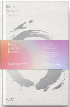 NIV Bible Speaks Today-Bible - Black Bonded Leather