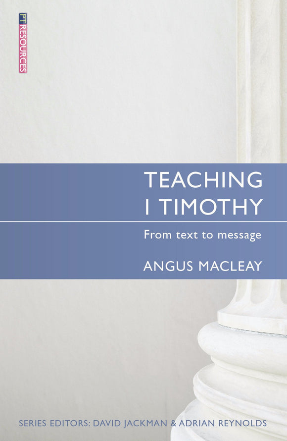 Teaching 1 Timothy