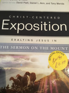 CCE: Sermon on the Mount