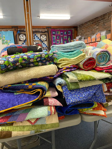 Quilt donations for Southern Oregon fire victims.