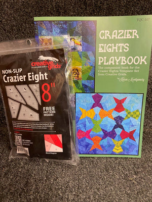 "Crazier 8"" Template and Book"