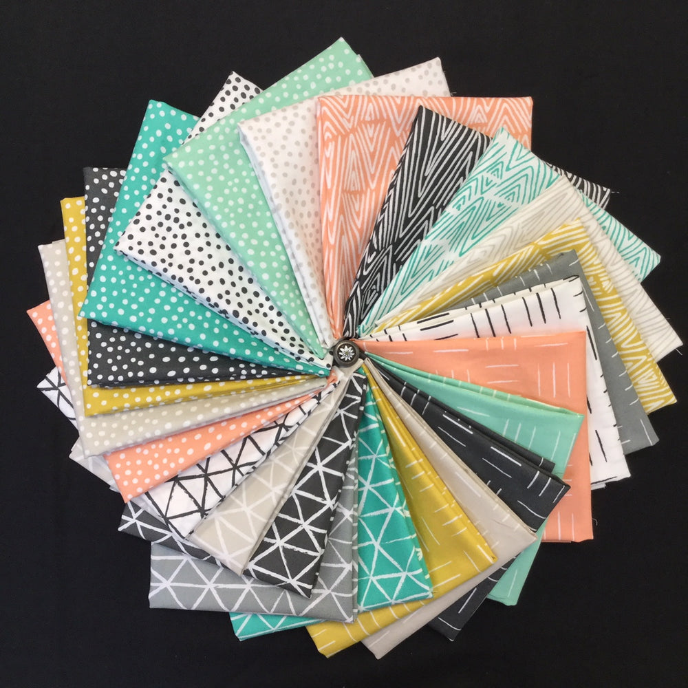 25 Piece Fat Quarter Pack!