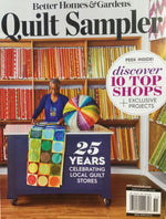Quilt Sampler Magazine Summer 2020