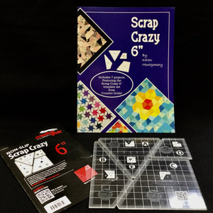 "Load image into Gallery viewer, Scrap Crazy 6"" Templates & Book 1"