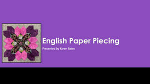 Load image into Gallery viewer, English Paper Piecing