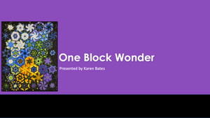 One Block Wonder