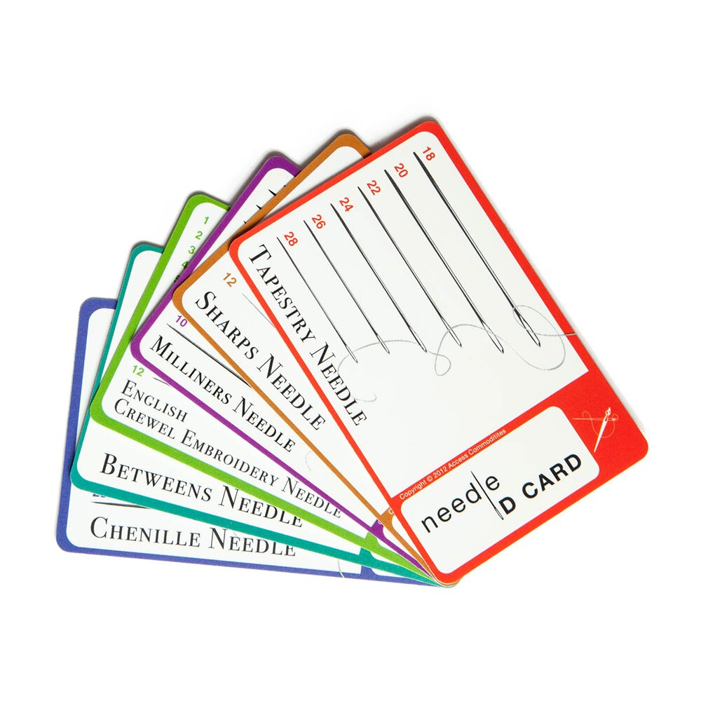 Needle ID Cards