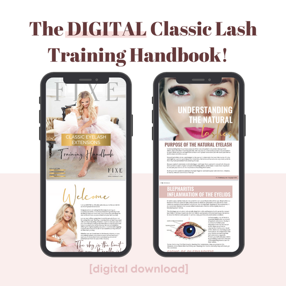 Digital Classic Lash Training Handbook