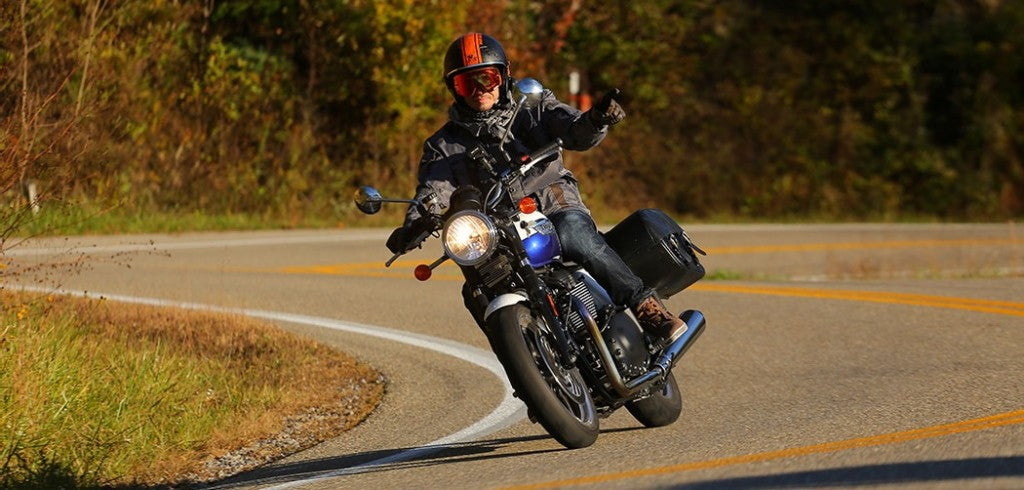ROAD TO: «TAIL OF THE DRAGON» TRIUMPH BONNEVILLE