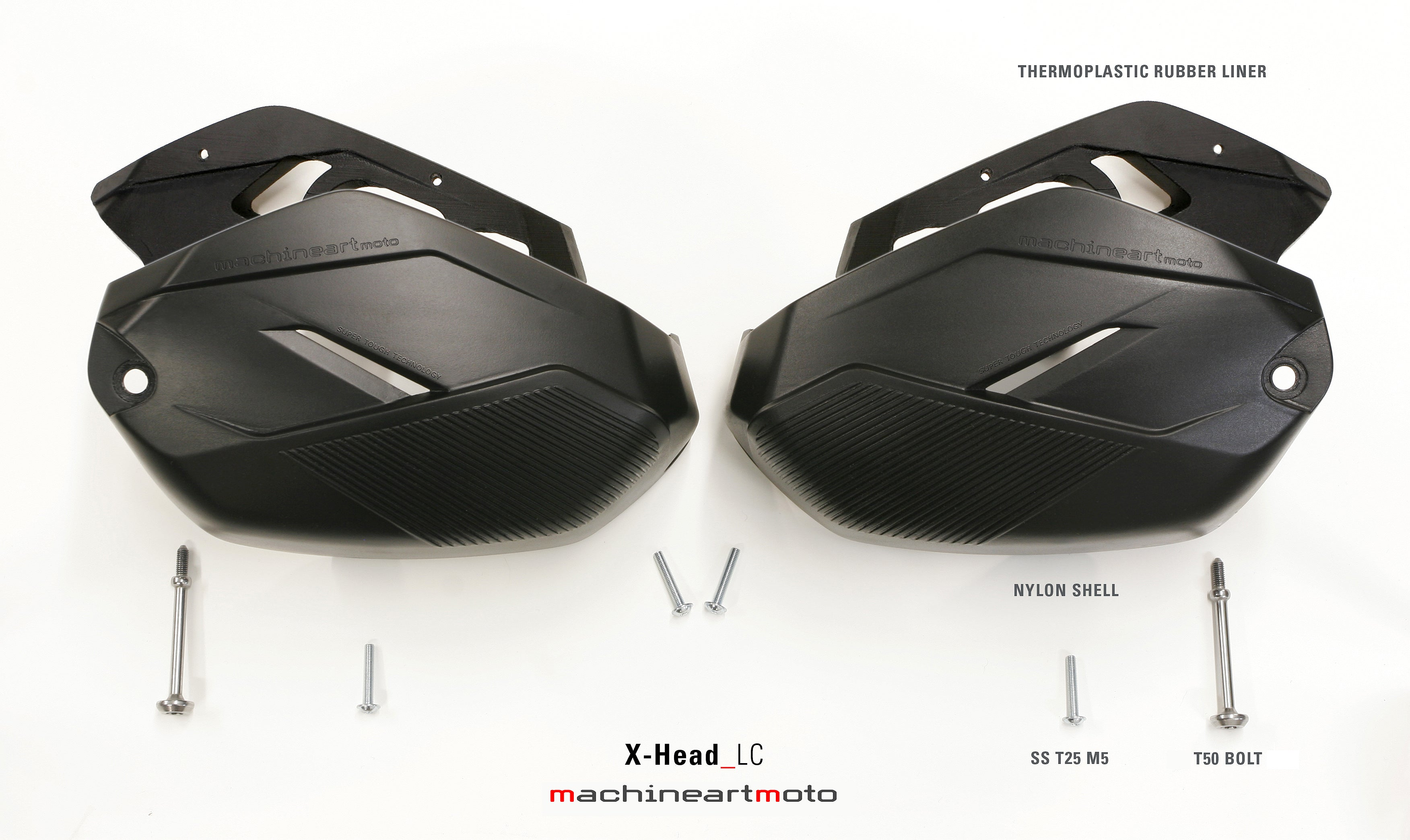 MACHINEARTMOTO - X-Head LC Protectores para Cilindro
