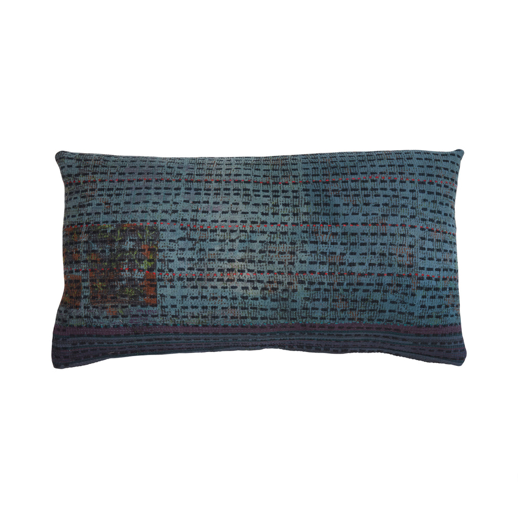 Lumbar Pillow | Midnight | 17x32