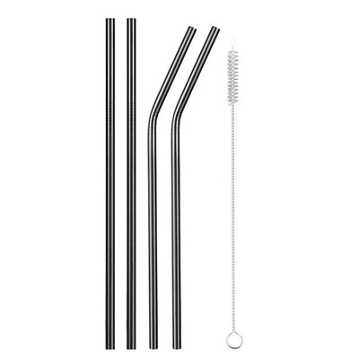 mixed back metal straws
