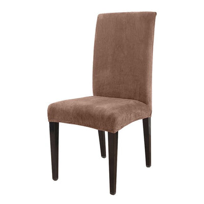 Brown color chair cover