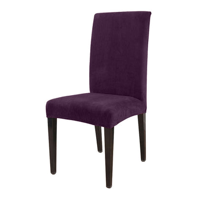 Plum color chair cover