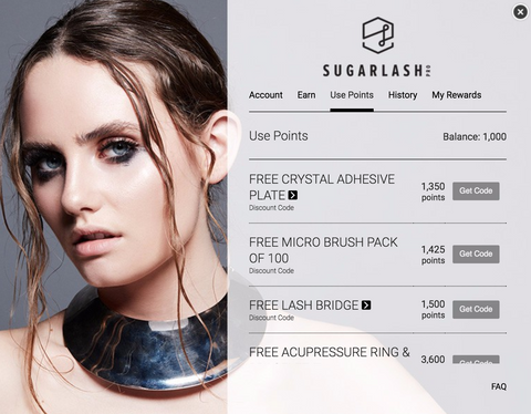 Sugarlash Pro Rewards