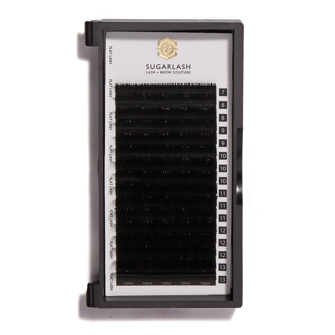 C-Curl Flat Lashes (Single Length Trays)