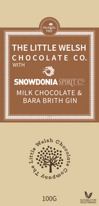 MILK CHOCOLATE & BARA BRITH GIN - The Little Welsh Chocolate Company