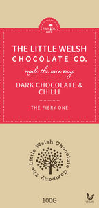 DARK CHOCOLATE & CHILLI - The Little Welsh Chocolate Company