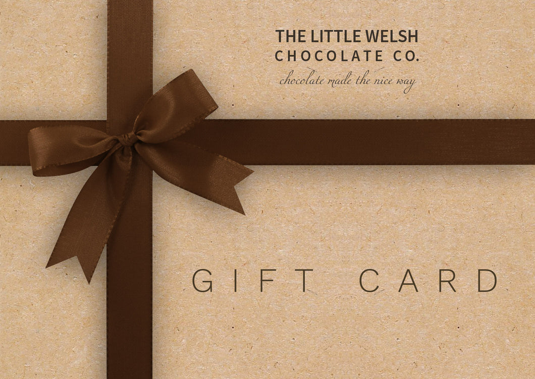 E-Gift Card - The Little Welsh Chocolate Company