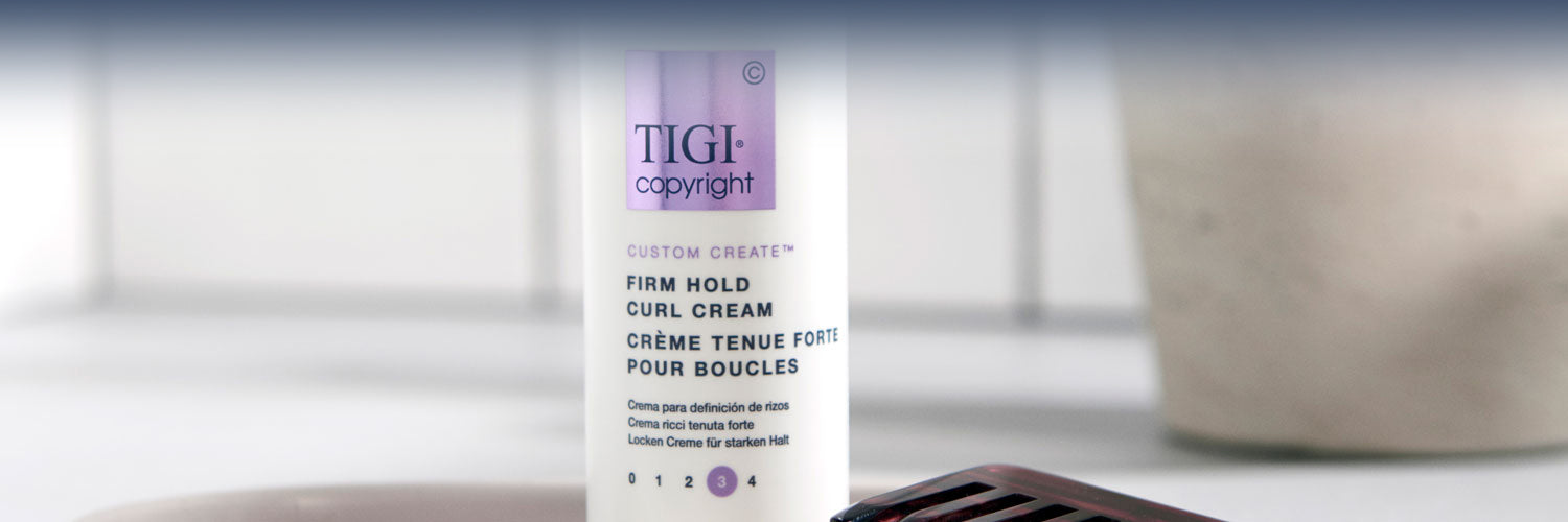 Firm Hold Curl Cream banner
