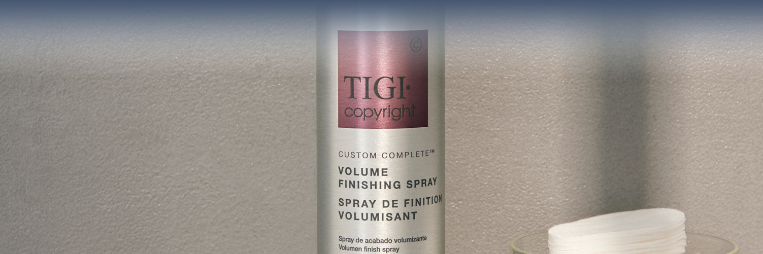 Volume Finishing Spray banner