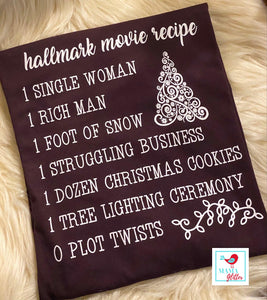 Christmas Movie Recipe