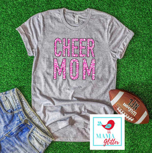 Cheer Mom - Pink Leopard