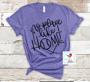 No Place Like Home- Black print