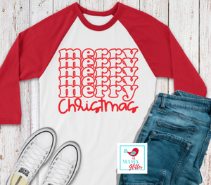 Merry Christmas - Red Print