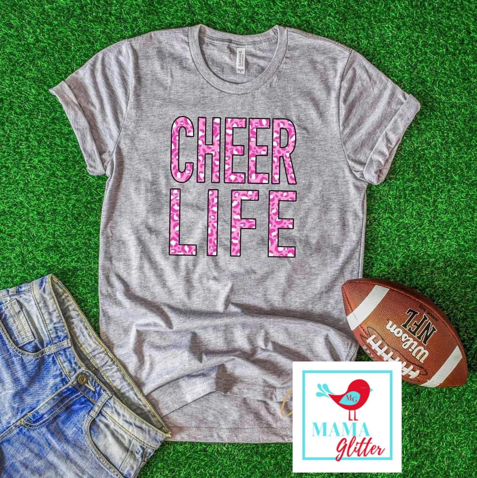 Cheer Life - Pink Leopard