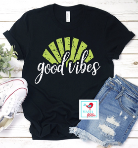 Good Vibes-Green