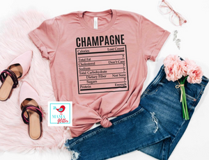 Champagne - Nutritional Information