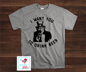 I Want You To Drink Beer