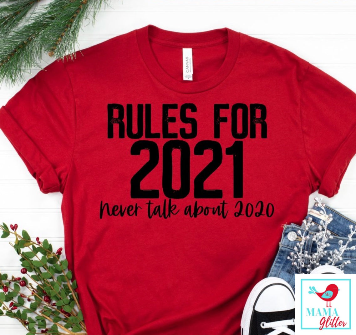 Rules For 2021