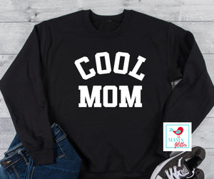 Cool Mom - White Print