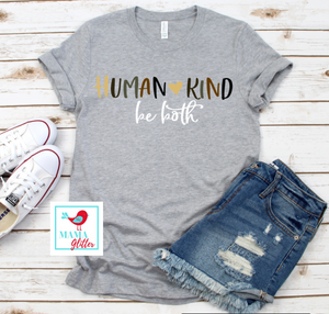 Human Kind, Be both-Full Color, Heart
