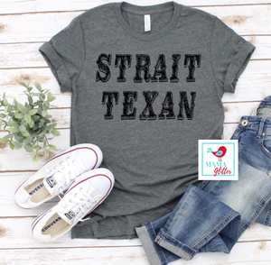 STRAIT TEXAN-BLACK PRINT