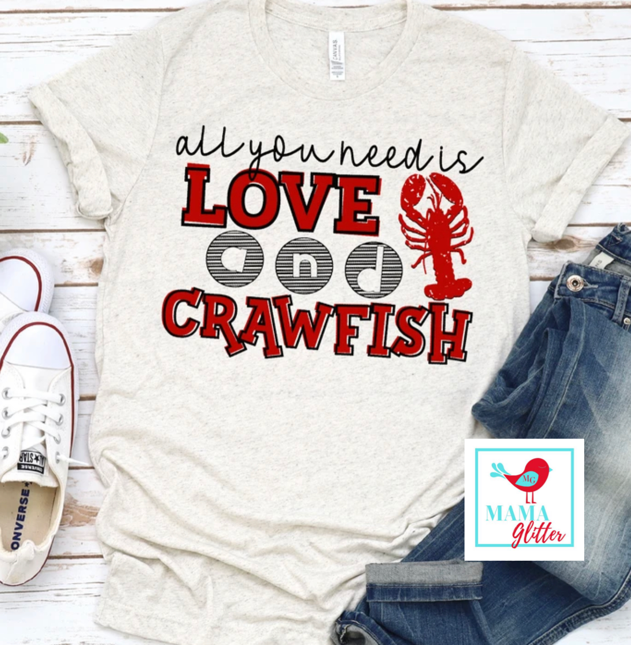 All You Need Is Love And Crawfish