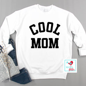 Cool Mom - Black Print