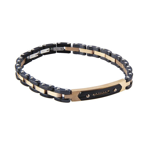 Related product : Modular Bracelet with strap in black ceramics