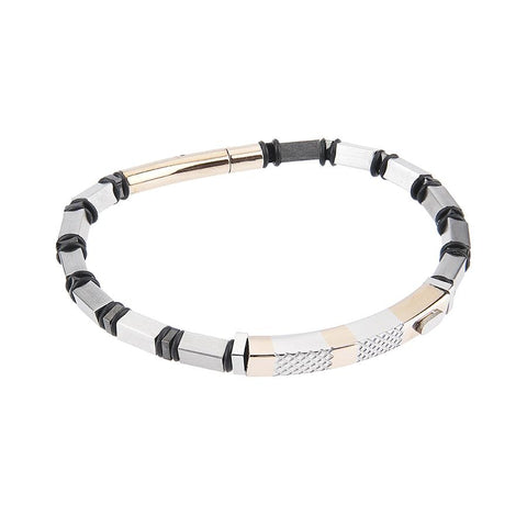 Related product : Steel Bracelet bicolor