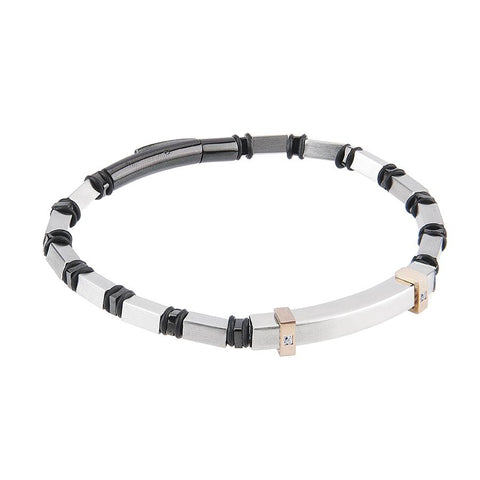 Related product : Steel Bracelet and zircons