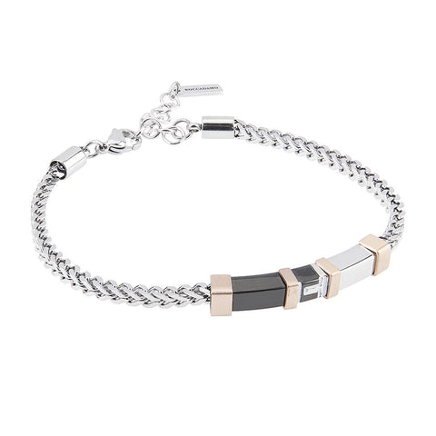 Related product : Bracelet bicolor mesh braided