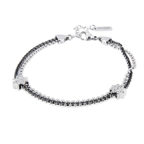 Related product : Bracelet double wire with Rosa dei Venti