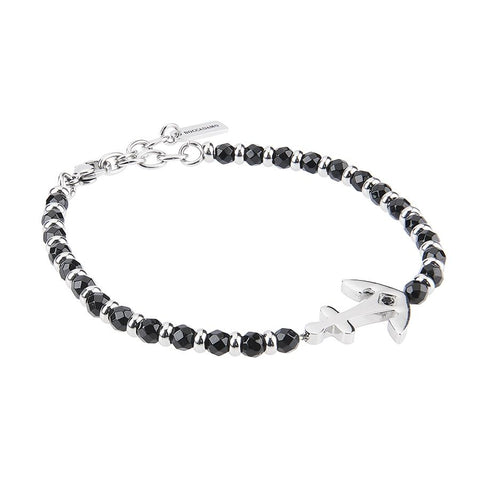 Related product : Bracelet with Obsidian Black, still and zircon