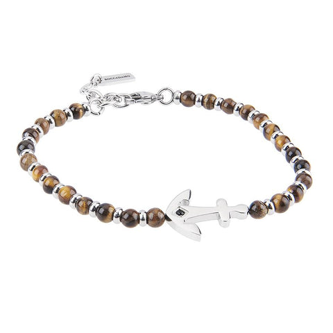 Related product : Bracelet with the eye of the tiger, still and zircon