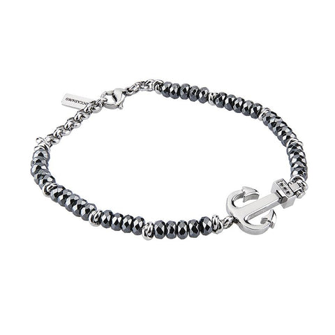 Related product : Bracelet with hematite, still and zircons