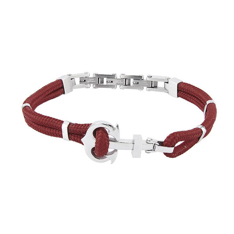 Related product : Bracelet double thread in marine lanyard red