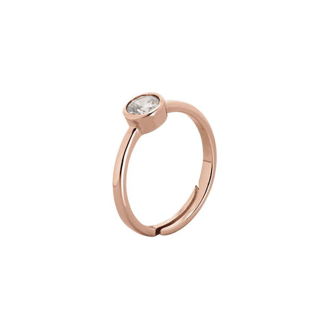 Related product : Plated ring pink gold with zircon diamond cut
