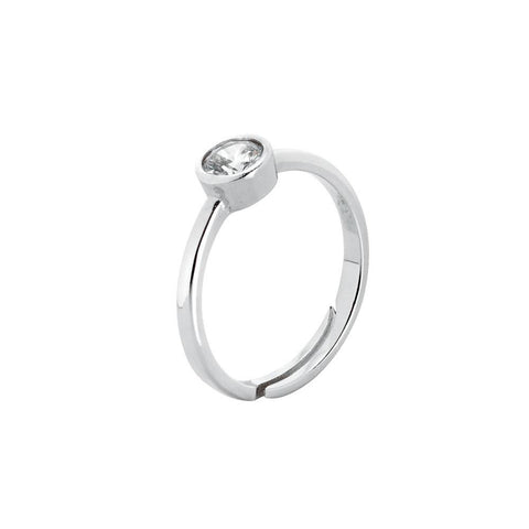 Related product : Ring with zircon diamond cut